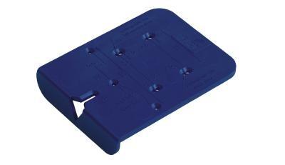 HETTICH 45150 šablóna Bluejig pre závesy a podložky