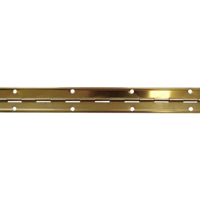 Pianový závěs 32×3500 mm mosaz