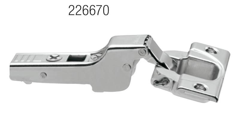 BLUM 70T3650.TL polonaložený Tip-on skrutka 110°