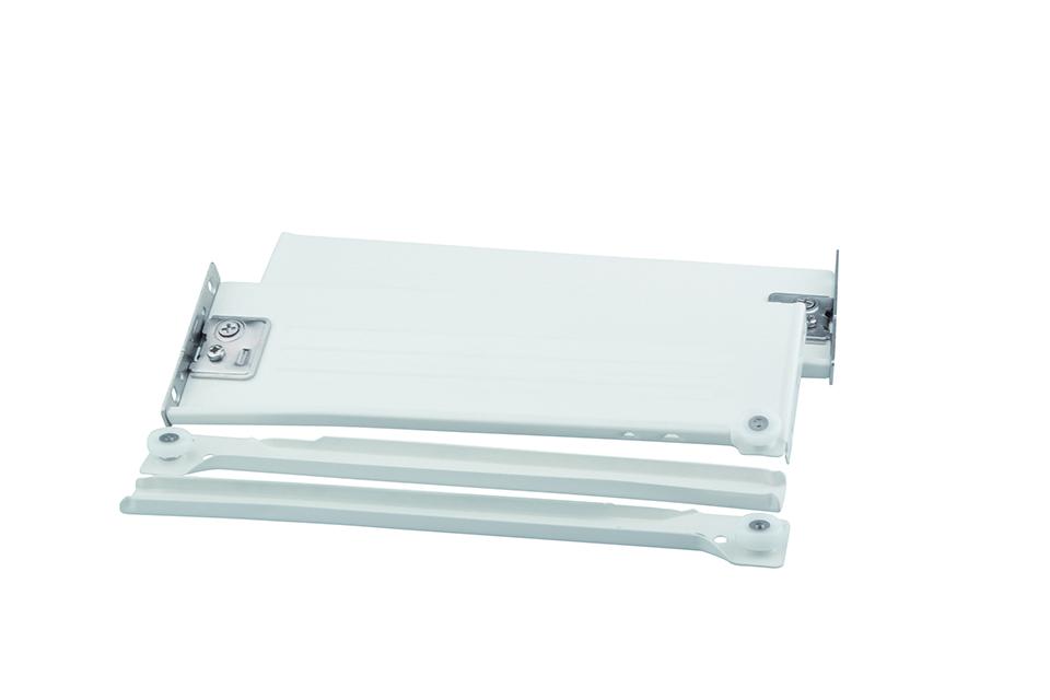 STRONG výsuv s bočnicou H86/450 biely