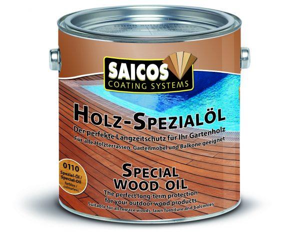 HOLZ SPECIALOL 0113, špeciálny olej na drevo, bankurai, 2,5L