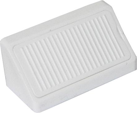 Uholník spoj. plast. dvoj. 42mm biely