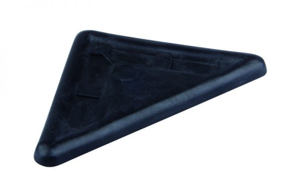 STRONG Klzák rohový čierny 5 mm