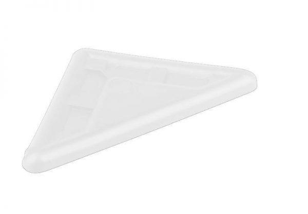 STRONG Klzák rohový biely 5 mm