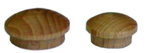 Záslepka-viečko s čapom15mm smrek