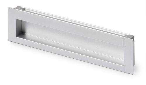 HETTICH 9071060 Úchytka NIDUM L111/96 eloxovaný hliník