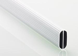 HETTICH 9079590 Šatná tyč oválna 3000mm hliník
