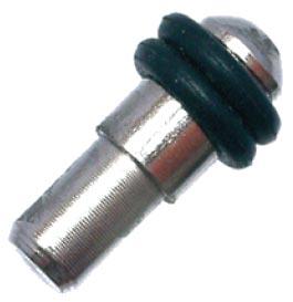 Podperka policová na sklo MV05-5/8 nikel čierna