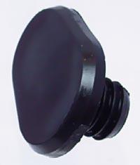 Narážka zrazová čierna