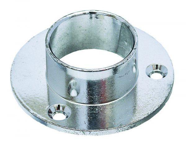 STRONG Držiak šatníkovej tyče kruh priemer 25mm chróm
