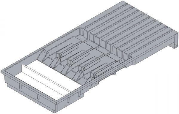 BLUM ZC7M0200 držiak nožov sivý