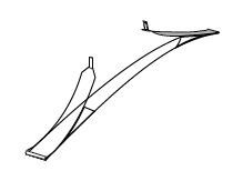 SEVROLL Simple/Blue pozicionér pre spodný vozík