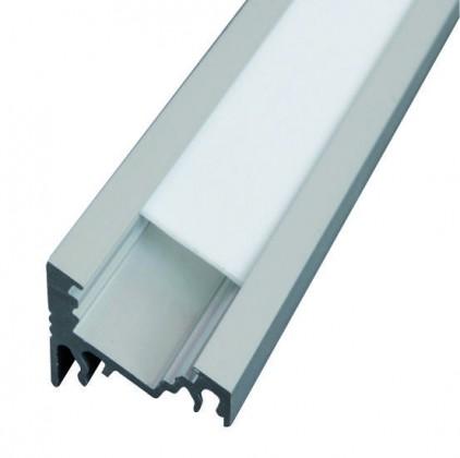 V-profil LED Corner alu anod.3000mm