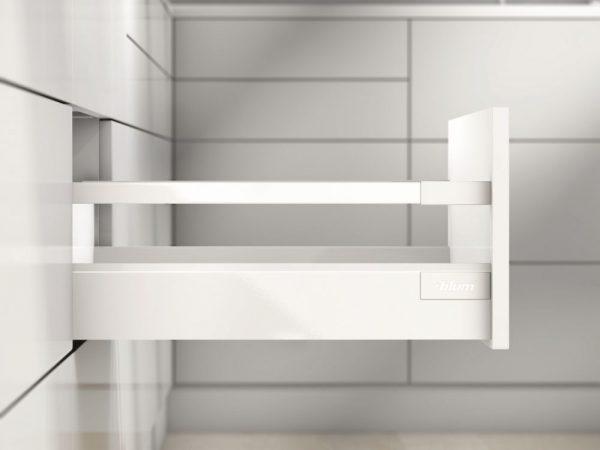 K-BLUM Antaro C 500 mm,30 kg, biele,vrut, komplet