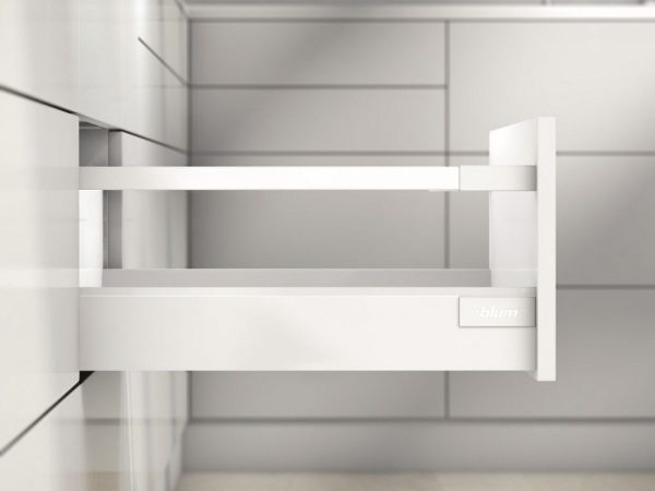 K-BLUM Antaro D 400 mm,30 kg, biele,vrut, komplet