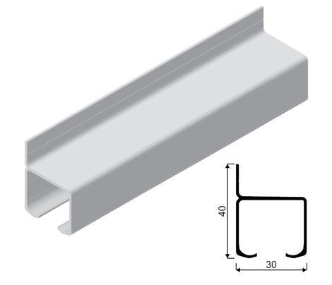 SEVROLL vedenie INTER B 35kg do stropu 2m