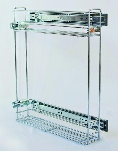 K-STRONG dvojkôš bočný 200mm tlmený, sada 284499+92004T