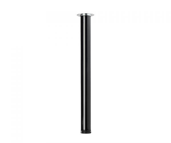 STRONG Stolová noha 710/60mm čierná lesk new