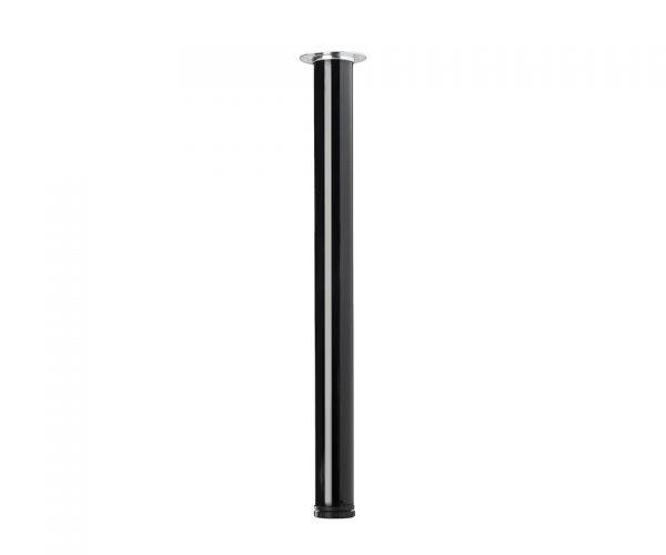 STRONG Stolová noha 820/60mm čierná lesk new