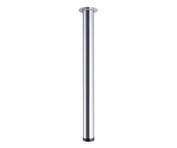 STRONG Stolová noha 820/60mm nerez (brúsená oceľ) new