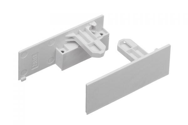 StrongMax držiaky čelného profilu vnútornej zásuvky 89 biele