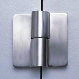 WC Závěs levý (šrouby) H70 18 mm