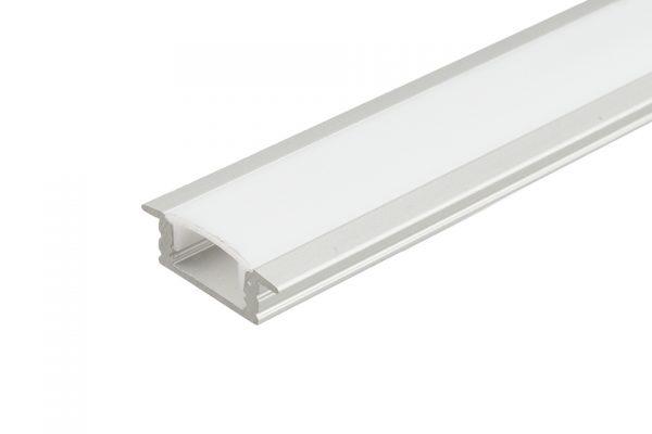 STRONG krytka pre LED profil Ormio 2m mliečna