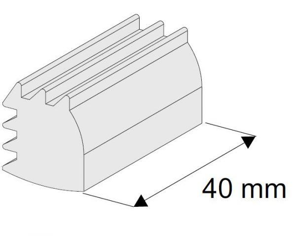 SEVROLL upevňovací klín Blue 40ks (sklo 4mm)