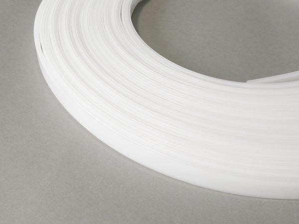 TM-Krycia lišta k LED profilom naklapávacia mliečna.20m