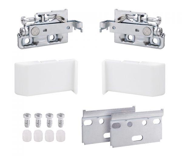 STRONG rektifikačné kovanie kovové s bielými krytkami