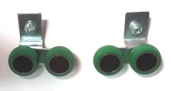 SEVROLL horný vozík 10mm asymetr.(L+P)