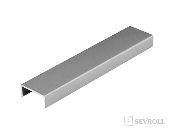 """SEVROLL profil """"U"""" pre DTD 18mm 3m striebor"""