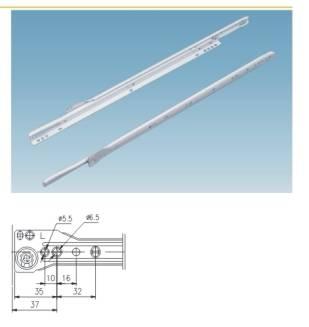 STRONG kolieskový výsuv 18″/450mm biely