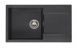 Drez Amsterdam 43 Black silver+sifon M2060