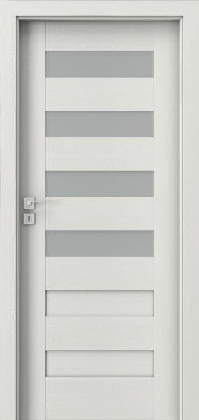 Dvere KONCEPT wenge white +zárubňa 80P