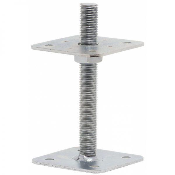 Petka piliera 80x80x100 M16 bez privarenej matice 01526